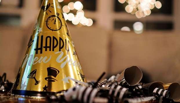 Vive la mejor Nochevieja en un 5* con música en vivo, cena de gala, brunch de año nuevo y mucho más