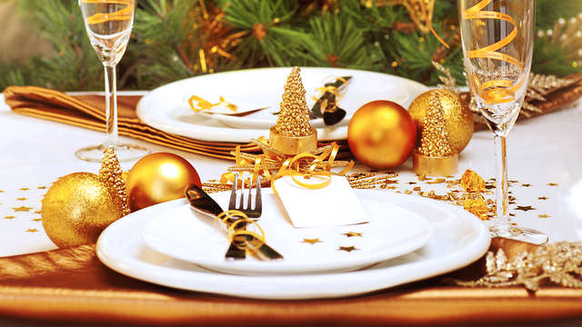 Dîner de Noël et soirée féerique au cœur des montagnes, près de Valmorel
