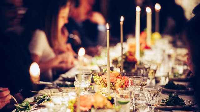 Cena de Nochevieja para 2 adultos