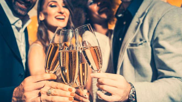 Esquí en año nuevo con bufé y champán incluido