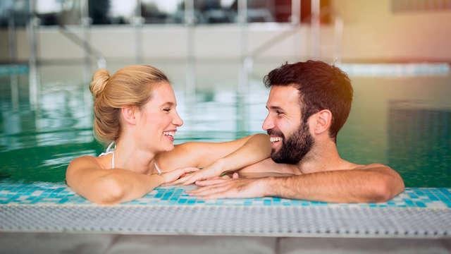 Romance y relax en el complejo Lucera: con SPA, masajes y cena incluidos
