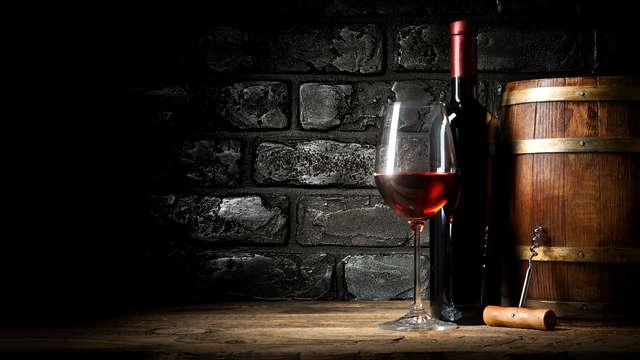 Fin de semana con cena de cata de vinos en un edificio histórico en San Quirico D'Orcia