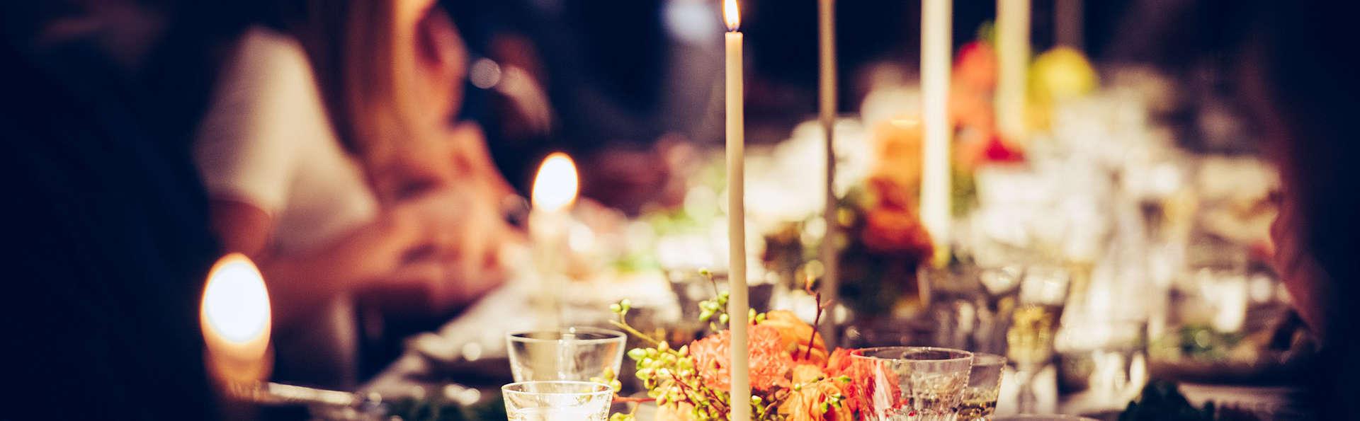 Succulent diner de Noël dans un cadre enchanteur en pleine Veluwe