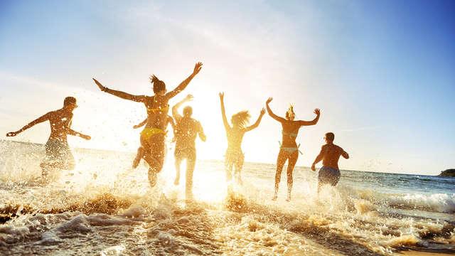 Ontspanningsweekend met de familie aan het strand met de kinderen gratis (vanaf 2 nachten)