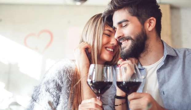 Noche romántica con jacuzzi en la habitación