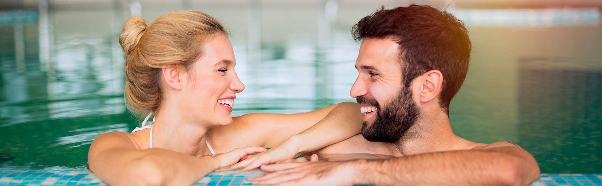 Profitez d'une soirée romantique comprenant un dîner et un accès au centre de bien-être