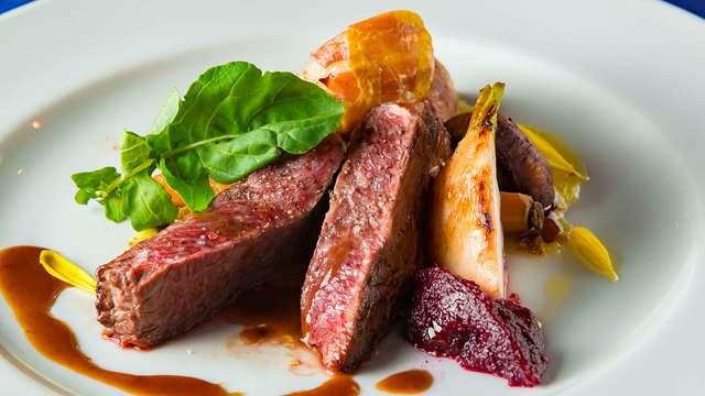 """Plaisirs gastronomiques avec un dîner gibier au """"7 Bergsche Hoeve"""""""