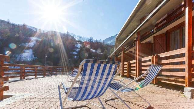 Week-end sur la neige des Alpes; à deux pas de la France (3 nuits)
