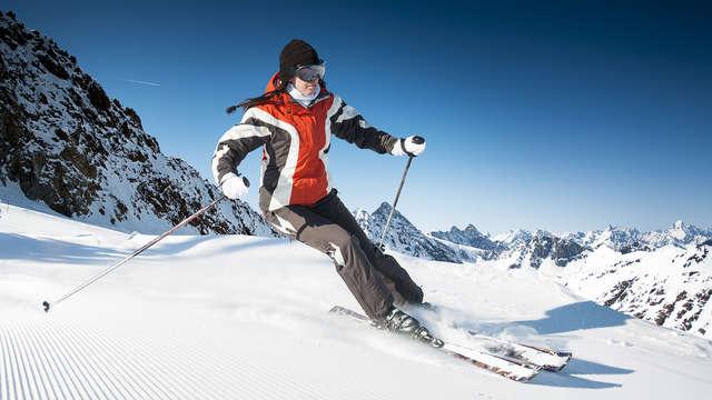 Week-end de 3 jours dans les Alpes, avec skipass et en demi-pension