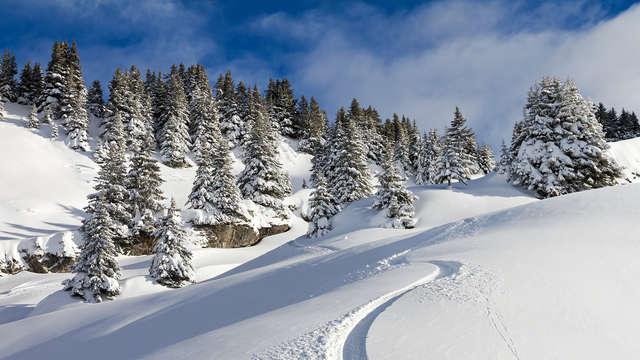 Séjour au ski en plein cœur des Alpes, avec vin chaud !