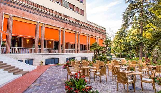 Relax en Emilia Romagna con SPA y cena típica.