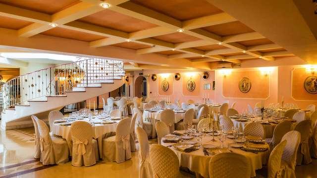 Offre gastronomique dans le Cilento : réservez maintenant une nuit avec dîner gourmet au Grand Hotel Osman