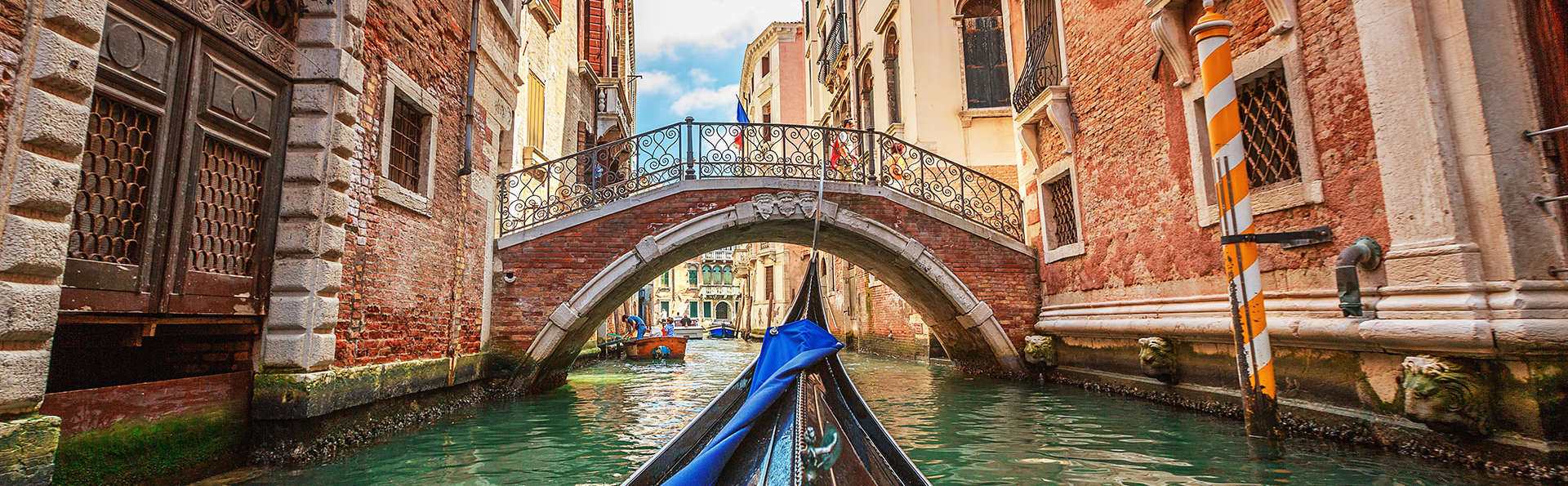 Séjour en appartement pour quatre personnes, à deux pas de Venise la magique