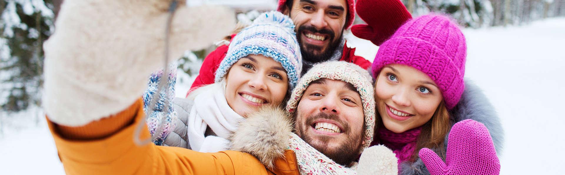 Alliez les plaisirs culinaires et les activités sportives pendant Noël (2 nuits)