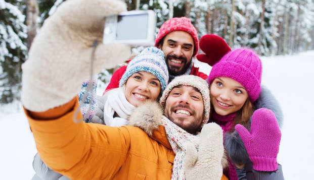 Combineer culinair genot met sportieve activiteiten tijdens Kerst (2 nachten)