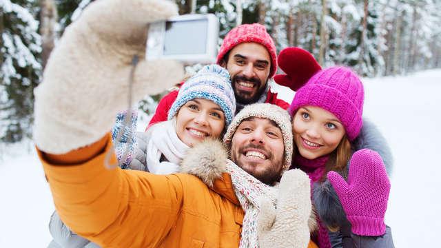 Combina el placer culinario con actividades deportivas en Navidad (2 noches)