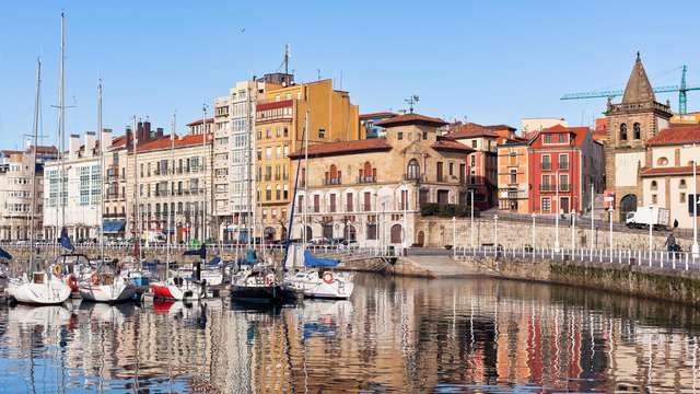 ¡Ofertón! Escapada en el Centro Histórico de Gijón con desayunos incluidos (desde 2 noches)