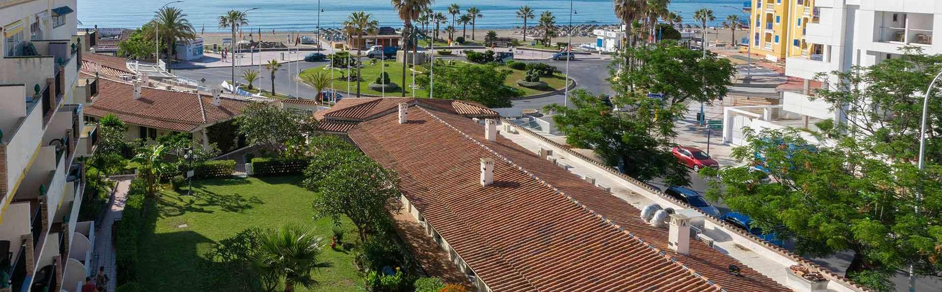 Escapada frente a la playa de Playamar de Torremolinos