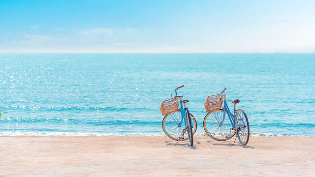 Découvrez la belle ville de Knokke à pied et à vélo (à partir de 3 jours)