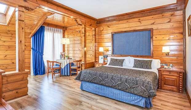 Desconexión en el Pirineo: Spa y cena gastronómica con upgrade a Suite (desde 2 noches)