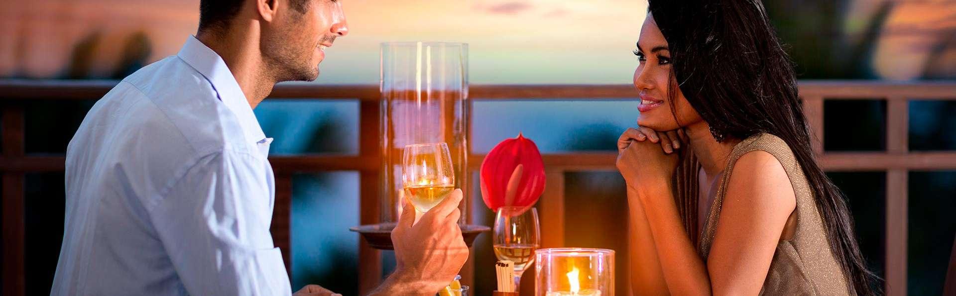Escapade avec dîner et cadeau romantique près de la plage d'Albufeira (à partir de 2nuits)