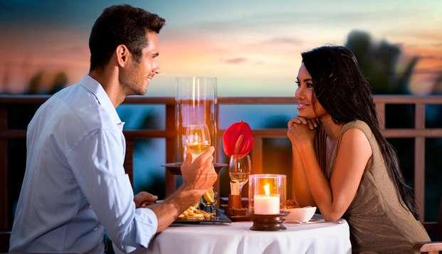 Escapada con cena y detalle romántico cerca de la playa de Albufeira (desde 2 noches)