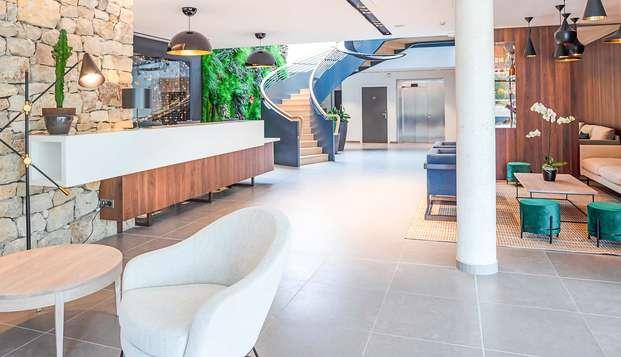 Chambre avec terrasse pour un séjour 4* au cœur du pays d'Aix