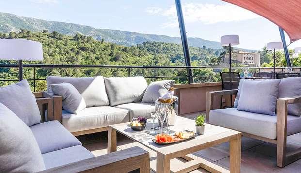 Balcon avec vue sur la montagne près d'Aix en Provence !