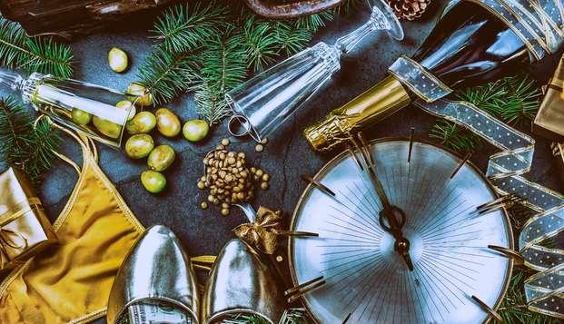 Celebra el fin de año en el corazón del País Vasco con acceso al balneario, cava y uvas de la suerte