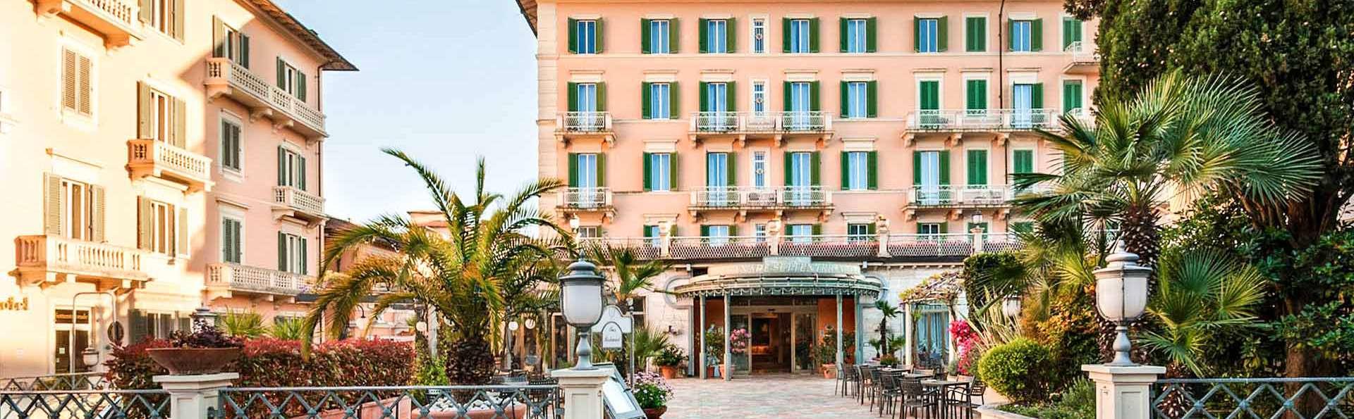 Week-end à Montecatini Terme, dans un élégant hôtel situé dans le centre historique