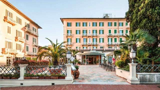 Descubre Montecatini Terme desde un elegante hotel en el centro histórico