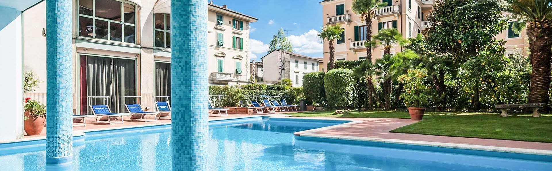 Week-end à Montecatini Terme, en chambre Superior dans un hôtel situé dans le centre historique