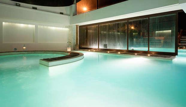 Soggiorno di lusso a Viterbo: al Salus Terme in camera deluxe con spa termale inclusa