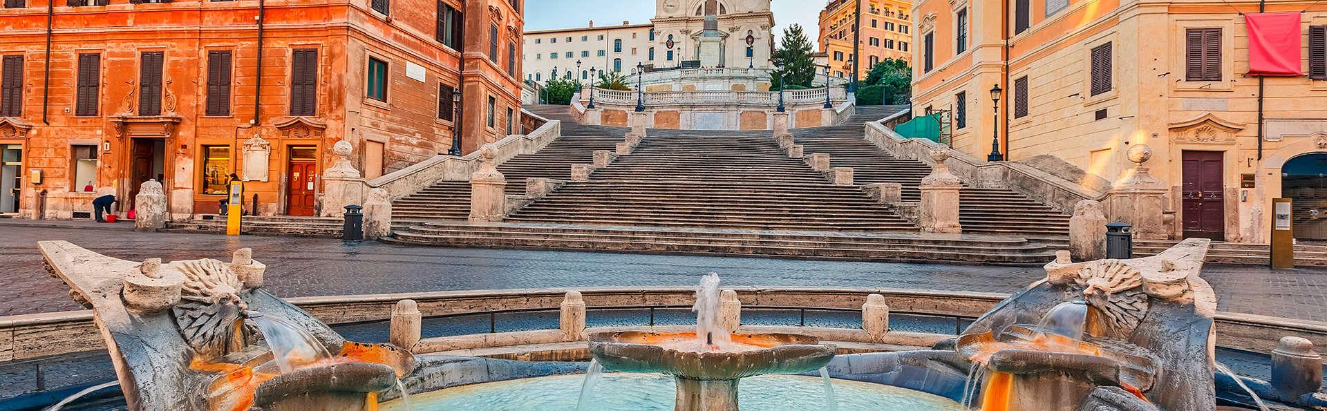 Hôtel 4 étoiles à Rome : le luxe au cœur de la Ville Éternelle, à proximité de la Piazza di Spagna