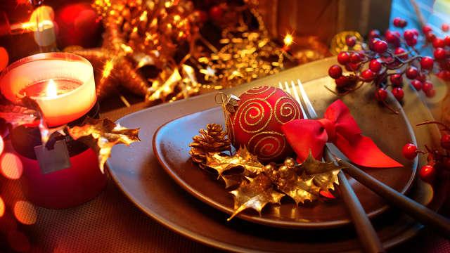 Célébrez Noël avec spa, dîner, centre de bien-être et ambiance musicale (2 nuits)