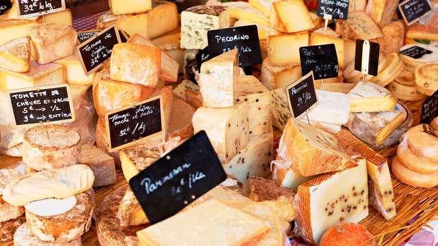 Dégustation de fromages pour 2 adultes