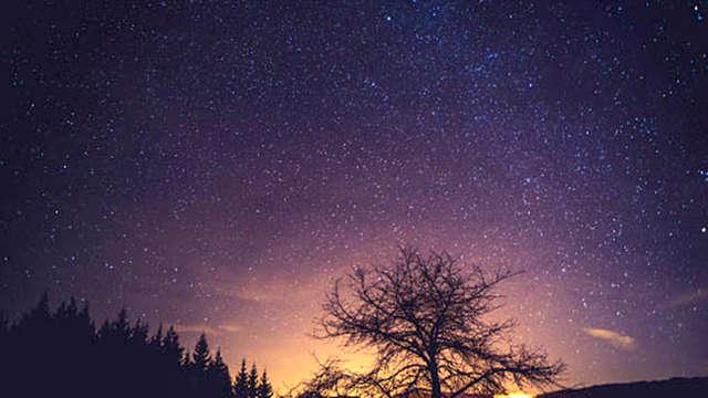 Slapen onder de sterren in het Limburgse landschap