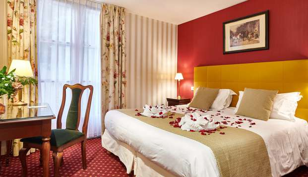 Haz una escapada romántica a un hotel con mucho encanto en Biarritz