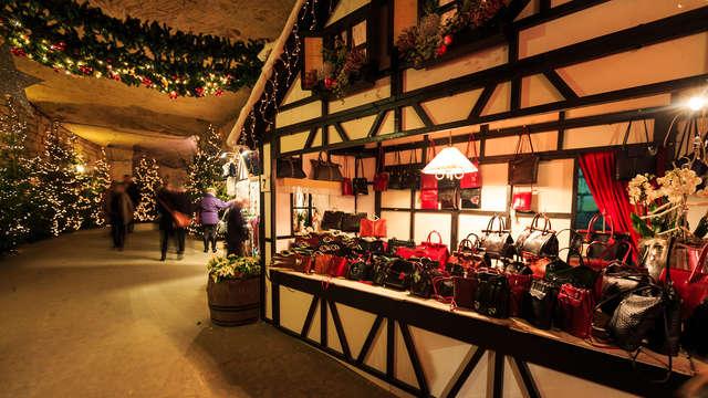 Ontspanning, culinair genot en toegang tot de Valkenburgse Kerstmarkt (2 nachten)