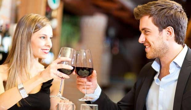 San Valentino romantico a Rimini con cena e late check-out!