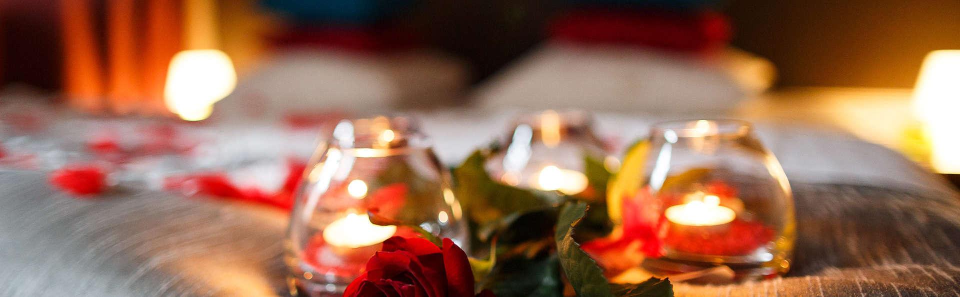 Partez en escapade romantique avec bulles et diner à Dinant