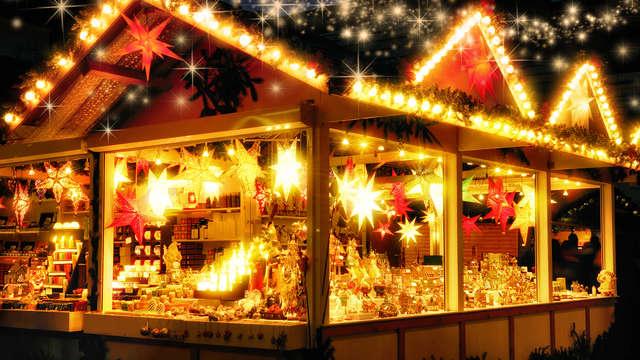 Marché de Noël au champagne au Touquet