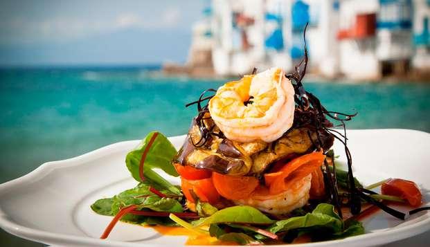 Escapada Romántica con Cena y Cava frente a la Playa del Sardinero de Santander