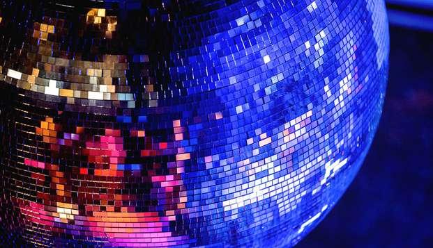 Célébrez le Nouvel An dans un décor spécial et dansez sur des tubes des années 70, 80 et 90 !