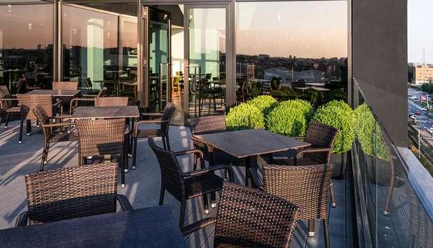 Séjour de deux nuits dans un hôtel moderne 4 étoiles de Milan