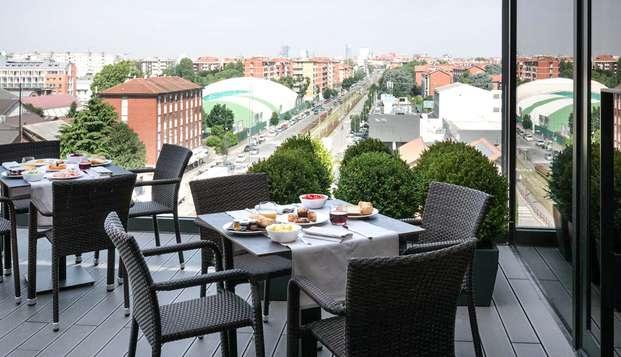 Week-end à Milan avec apéritif de bienvenue sur une terrasse panoramique