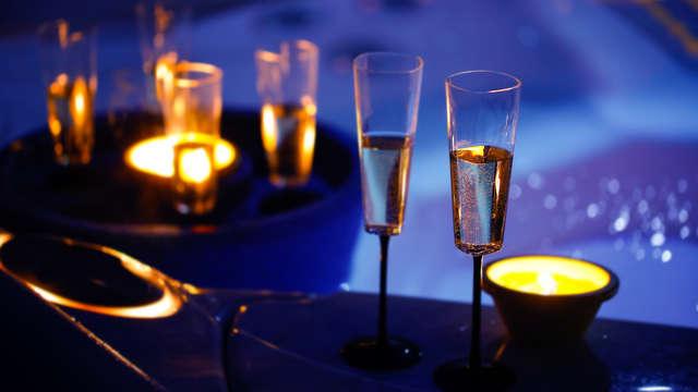 Soggiorno romantico a Rimini in suite con vasca idromassaggio