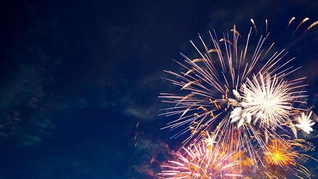 Nouvel An gourmand et festif avec vue sur le Stade de France