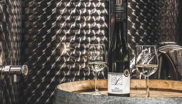 Disfruta del vino alemán y de un sinfín de especialidades culinarias (2 noches)