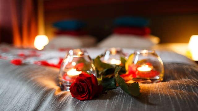 Soggiorno romantico con cena in camera a lume di candela in Emilia Romagna